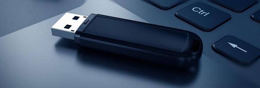 Choisir la clé USB